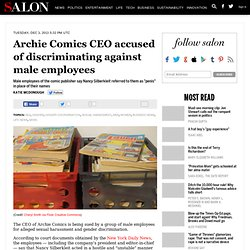 Archie Comics CEO accused of discriminating against male employees