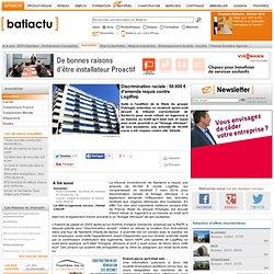 Discrimination raciale : 50.000 € d'amende requis contre LogiRep