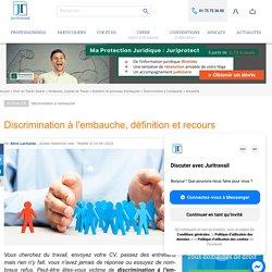 Discrimination à l'embauche, définition et recours