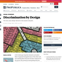 Discrimination by Design