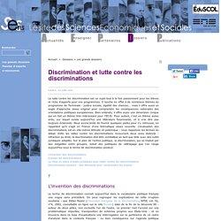 Discrimination et lutte contre les discriminations