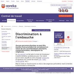Discrimination à l'embauche : recours - Ooreka