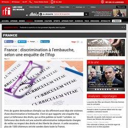 France : discrimination à l'embauche, selon une enquête de l'Ifop