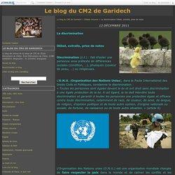 La discrimination Débat, extraits, prise de notes - Le blog du CM2 de Garidech