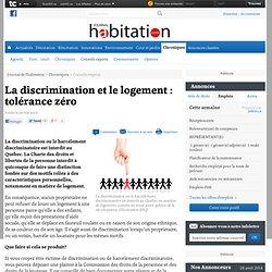 La discrimination et le logement : tolérance zéro - Conseils experts