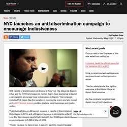 NYC launches an anti-discrimination campaign to encourage inclusiveness