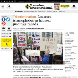 Discrimination. Les actes islamophobes en hausse… jusqu'au Canada