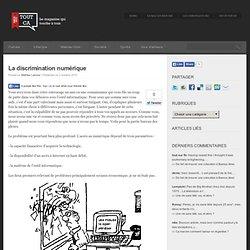 La discrimination numérique