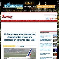 Air France reconnue coupable de discrimination envers une passagère en partance pour Israël