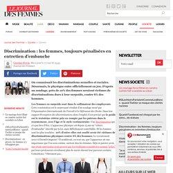 Discrimination : les femmes, toujours pénalisées en entretien d'embauche
