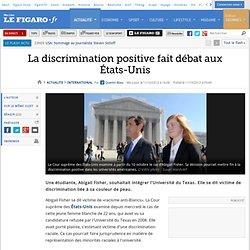 La discrimination positive fait débat aux États-Unis