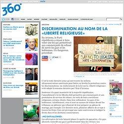Discrimination au nom de la «liberté religieuse»