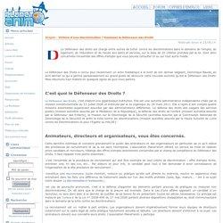Victime d'une discrimination ? Saisissez le Défenseur des Droits - Emploi - Articles