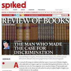 The man who made the case for discrimination