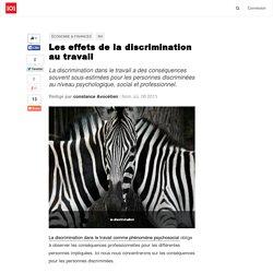 Les effets de la discrimination au travail