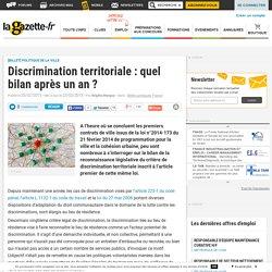 Discrimination territoriale : quel bilan après un an
