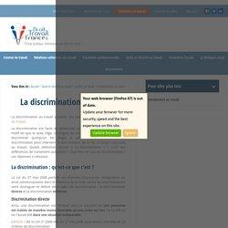 Discrimination au travail : que dit la loi ?