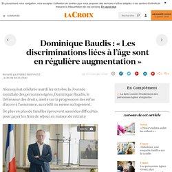 Dominique Baudis: «Les discriminations liées à l'âge sont en régulière augmentation»