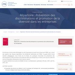 Répertoire : Prévention des discriminations et promotion de la diversité dans les entreprises - Orse.org