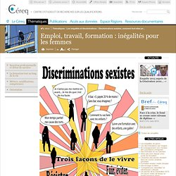Discriminations sexistes, comment font-elles pour supporter cela ? / articles