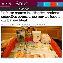 La lutte contre les discriminations sexuelles commence par les jouets du Happy Meal