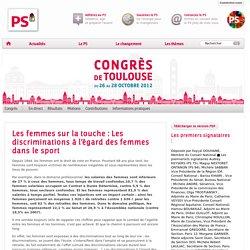 Les femmes sur la touche : Les discriminations à l'égard des femmes dans le sport