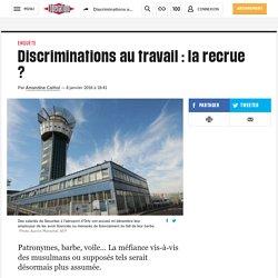 Discriminations au travail : larecrue ?