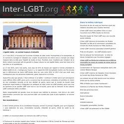 Lutte contre les discriminations et les violences