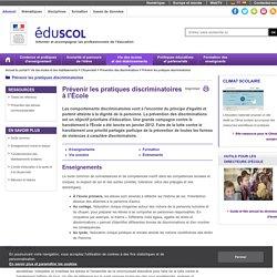 Prévenir les pratiques discriminatoires - Prévention des discriminations