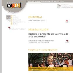 Discurso Visual - núm. 35 - Historia y presente de la crítica de arte en México