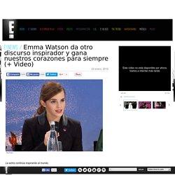 Emma Watson da otro discurso inspirador y gana nuestros corazones para siempre (+ Video)