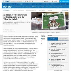 El discurso de odio y masacre de Charlie Hebdo - Europa - ELTIEMPO.COM