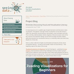 8 Articles Discussing Visual and Visualisation Literacy » Seeing Data