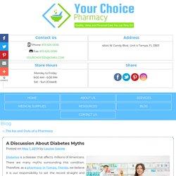 A Discussion About Diabetes Myths
