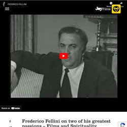 Discussion to Understand the Filmmaking Perceptions of Federico Fellini