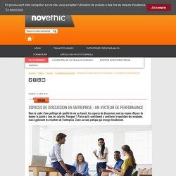 Espaces de discussion en entreprise : un vecteur de performance