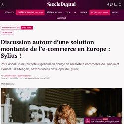 Discussion autour d'une solution montante de l'e-commerce en Europe : Sylius !