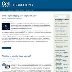 Press Discussions | Discuss important life science topics with the experts