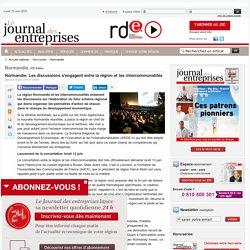Normandie. Les discussions s'engagent entre la région et les intercommunalités - Normandie - Le Journal des entreprises