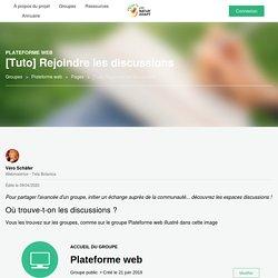 [Tuto] Rejoindre les discussions - Plateforme web