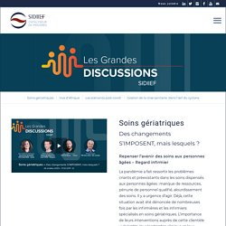 SIDIIEF-Les Grandes Discussions - précédentes