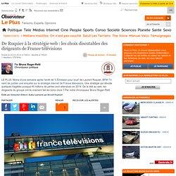 De Ruquier à la stratégie web : les choix discutables des dirigeants de France télévisions