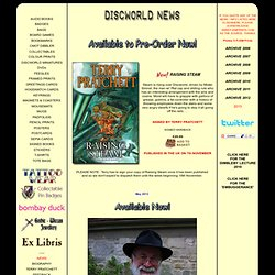 Discworld News March 2011 © PJSM Prints