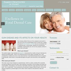 Gum Disease And Its Affects On Your Health