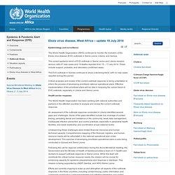 Ebola virus disease, West Africa – update 18 July 2014