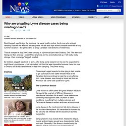Why are crippling Lyme disease cases being misdiagnosed? - CTV News