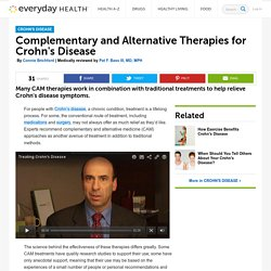 Crohn's Disease CAM - Crohn's Disease Center