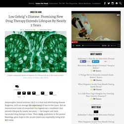 Lou Gehrig's Disease: Promising New Drug Therapy Extends Lifespan By Nearly 2 Years