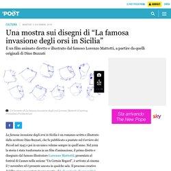 """Una mostra sui disegni di """"La famosa invasione degli orsi in Sicilia"""""""