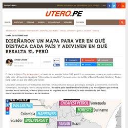 Utero.pe - un mapa para ver en qué destaca cada país
